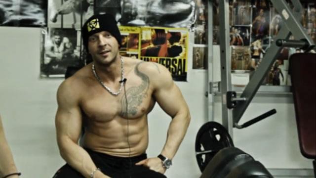 Тренировка спины: огромные объемы