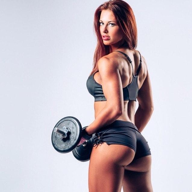 фото няшки фитнес девушки