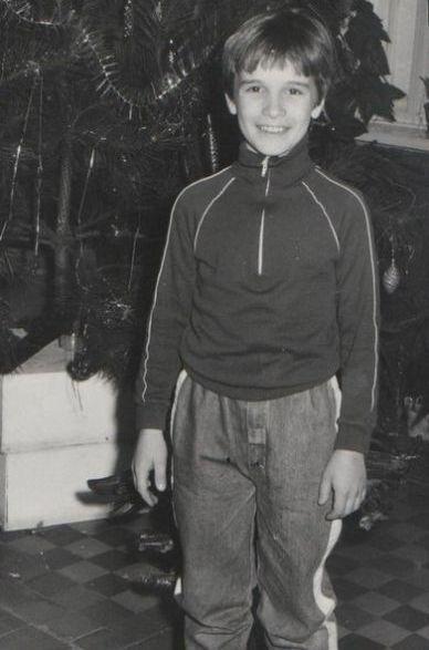 Денис Цыпленков в детстве