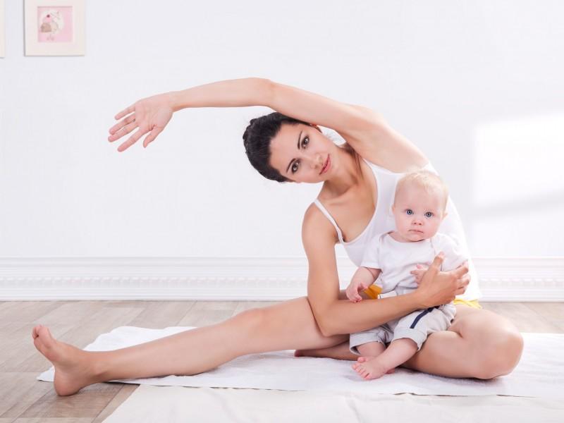 Как быстро убрать живот после беременности в домашних условиях