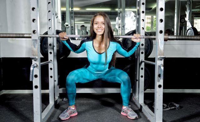 Фитнес-модель Диана Волкова - биография, фото, программа тренировок и питания фитнес бикинистки